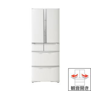 【長期無料保証/標準設置無料】日立 冷蔵庫 R-F48M2(W) パールホワイト 観音開き 内容量:475リットル|ksdenki