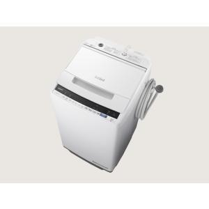 日立 洗濯機 BW-V70E W ホワイト 洗濯容量:7.0kg