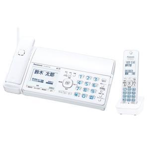 パナソニック ファックス(子機1台付き) KX-PZ510DL-W ホワイト|ksdenki