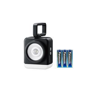 パナソニック LED懐中電灯 強力マルチライト(角型ランプ) BF-MK10-K(個装箱仕様) 黒