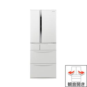 (長期無料保証/標準設置無料) パナソニック 冷蔵庫 NR-FVF504-W ハーモニーホワイト 観音開き 内容量:501リットル|ksdenki