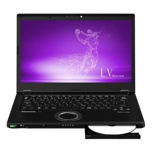 パナソニック モバイルパソコン CF-LV8LDVQR ブラック|ksdenki