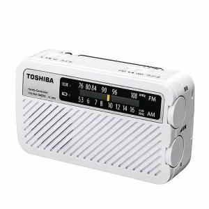 東芝 充電ラジオ TY-JKR5(W) ホワイト|ksdenki