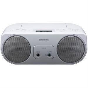 (アウトレット) 東芝 CDラジオ TY-C150(S) シルバー|ksdenki