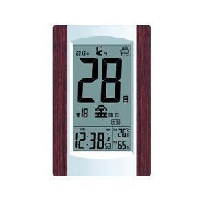 アデッソ 電波デジタル掛け置き時計 KW9256の関連商品5