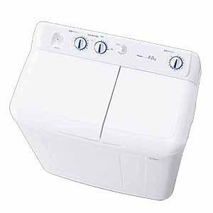 【長期無料保証/標準設置無料】ハイアール 二槽式洗濯機 JW-W80E(W) ホワイト 洗濯容量:8.0kg|ksdenki