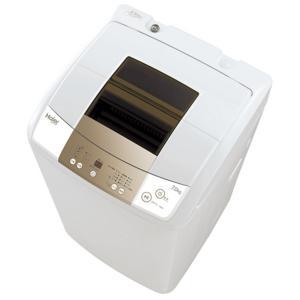 (長期無料保証/標準設置無料) ハイアール 全自動洗濯機 JW-K70M(W) ホワイト 洗濯容量:7.0kg|ksdenki