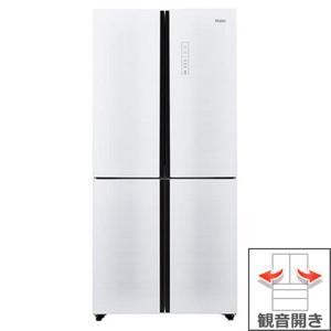 (長期無料保証/標準設置無料) ハイアール 冷蔵庫 JR-NF468A(W) ホワイト 観音開き 内容量:468リットル|ksdenki