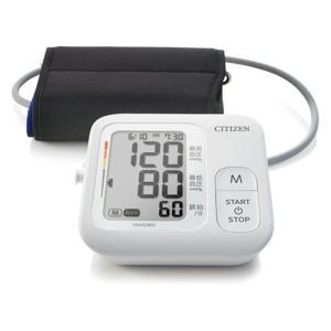 シチズン・システムズ 上腕血圧計(AC付) CHUG360 ホワイトの画像