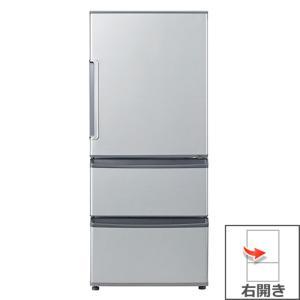 【長期無料保証/標準設置無料】アクア 冷蔵庫 AQR-271F(S) ミスティシルバー 右開き 内容量:272リットル|ksdenki