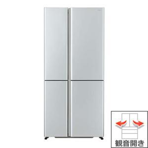 (長期無料保証/標準設置無料) アクア 冷蔵庫 AQR-TZ51H(S) サテンシルバー 観音開き 内容量:512リットル|ksdenki