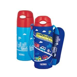サーモス 真空断熱ストローボトル FHL-401F BL ブルー|ksdenki