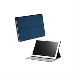 NEC LAVIE Tab E 専用カバー PC-AC-AD013C ネイビーブルー|ksdenki