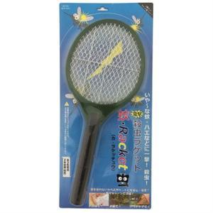 (アウトレット) ニコー 電撃殺虫ラケット「蚊Racket虫(カラケッチュウ)」 NCS-R20 グリーン ksdenki