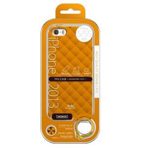 (アウトレット) MSソリューションズ iPhone 5/5S 用ケース ESP3-IP5STDOR オレンジ系|ksdenki