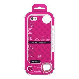 (アウトレット) MSソリューションズ iPhone 5/5S 用ケース ESP3-IP5STDPK ピンク系|ksdenki