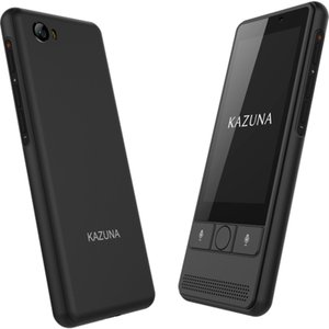 TAKUMI JAPAN 翻訳機 KAZUNA eTalk5 ブラック+グローバル通信(2年) TK...