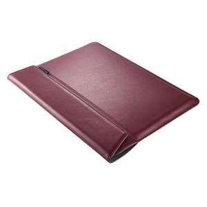 トリニティ MacBook Pro 15インチ用ケース TR-MBP1615-BS-NWR ワインレッド ksdenki
