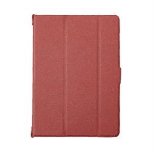 トリニティ iPad9.7インチ用ケース TR-IPD189-SFN-TRD テクスチャーレッド|ksdenki