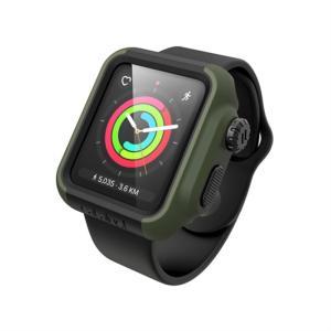 Catalyst Apple Watch 38mm シリーズ3/2用ケース CT-IPAW1738-AG アーミーグリーン/ブラック ksdenki