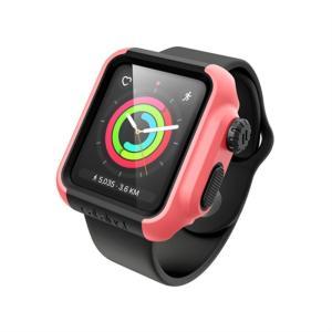Catalyst Apple Watch 42mm シリーズ3/2用ケース CT-IPAW1742-CB コーラル/ブラック ksdenki