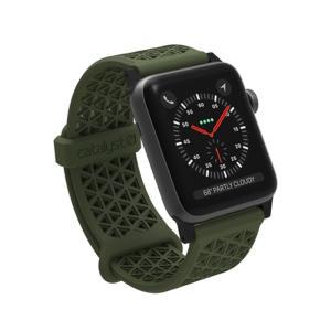 Catalyst Apple Watch 38mm シリーズ3/2/1用バンド CT-SBAW1738-AG アーミーグリーン ksdenki