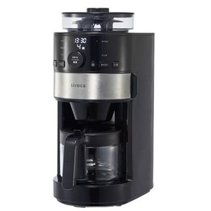 siroca コーン式全自動コーヒーメーカー SC-C111|ksdenki