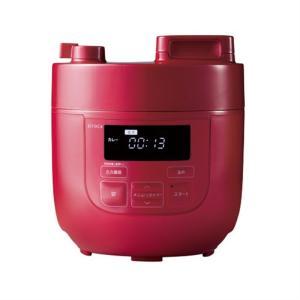 siroca 電気圧力鍋 SP-D121(R) レッド|ksdenki