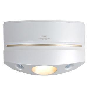 (アウトレット) ELPA もてなしライト HLH-1205(PW) パールホワイト|ksdenki