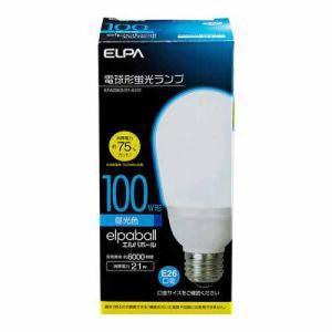 ELPA 電球形蛍光灯A形 100W形 EFA25ED/21-A101 昼光色 ksdenki