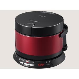 【長期無料保証】日立 日立ジャー炊飯器 RZ-WS2M(R) メタリックレッド 炊飯容量:2.0合|ksdenki