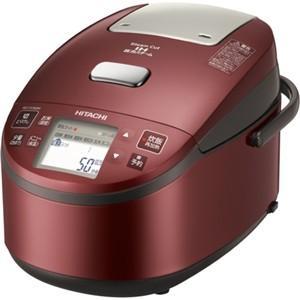 【長期無料保証】【アウトレット】日立 炊飯器 RZ-YV180M(R) メタリックレッド 炊飯容量:1升|ksdenki