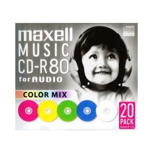 日立マクセル 音楽用CD−R CDRA80MIX.S1P20S|ksdenki