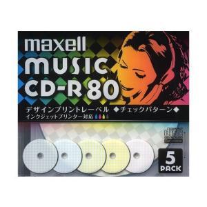 日立マクセル 音楽用CD−R CDRA80PMIX.S1P5S|ksdenki