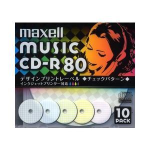 日立マクセル 音楽用CD−R CDRA80PMIX.S1P10S|ksdenki