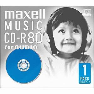 日立マクセル 音楽用CD−R CDRA80D.BL1J ブルー|ksdenki