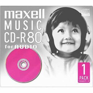 日立マクセル 音楽用CD−R CDRA80D.PK1J ピンク|ksdenki