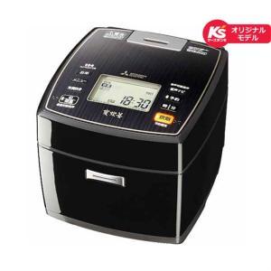 【長期無料保証】三菱電機 IHジャー炊飯器 NJ-KSX106-K ピアノブラック 炊飯容量:5.5合|ksdenki