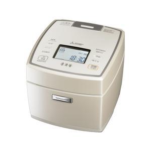 (長期無料保証)  (アウトレット) 三菱電機 IH炊飯器 NJ-VW109-W 白和三盆(しろわさんぼん) 炊飯容量:5.5合|ksdenki