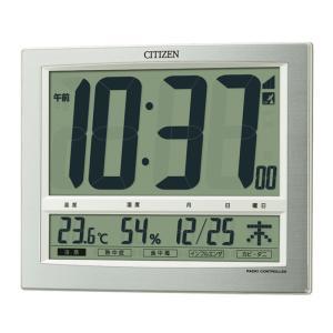 シチズン時計 電波デジタル掛け置き時計 8RZ140-019|ksdenki
