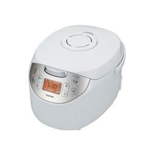【アウトレット】東芝 マイコンジャー炊飯器 RC-10MSH(W) ホワイト 炊飯容量:5.5合|ksdenki