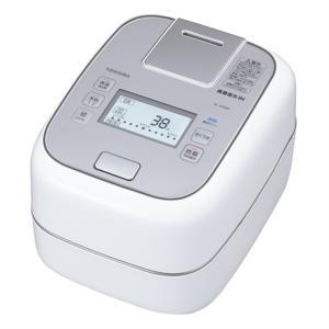 (長期無料保証)  (アウトレット) 東芝 圧力IH炊飯器 RC-10ZWM(W) グランホワイト 炊飯容量:5.5合 ksdenki