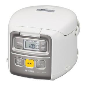 タイガー魔法瓶 マイコン炊飯ジャー JAI-R551 W ホワイト 炊飯容量:3合|ksdenki