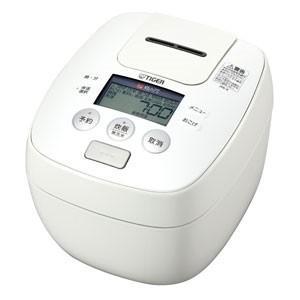 【アウトレット】タイガー魔法瓶 圧力IH炊飯ジャー JPB-R100 W ホワイト 炊飯容量:5.5合|ksdenki