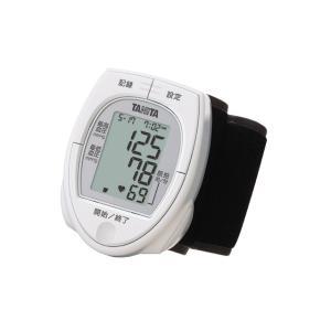 タニタ 手首血圧計(ケース付/単4×2本付) BP-E11-WH ホワイトの画像