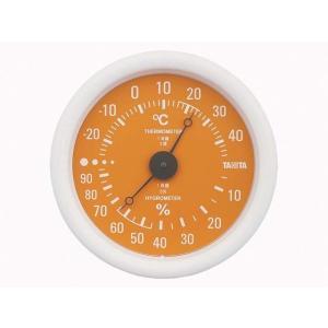 タニタ 温湿度計 TT-515 OR オレンジ|ksdenki