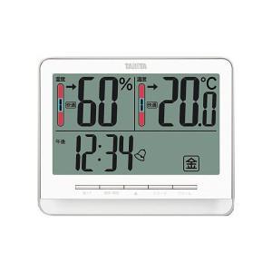 タニタ 温湿度計 TT538WH|ksdenki