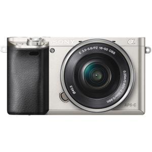 ソニー 小型一眼カメラ 1本レンズキット(電動ズーム) α(アルファ) α6000 ILCE-600...