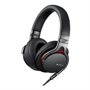 (アウトレット) ソニー ステレオヘッドホン MDR-1A BQ ブラック ハイレゾ音源対応|ksdenki