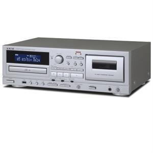 (長期無料保証) ティアック カセットデッキ・CDプレーヤー AD-850-S|ksdenki